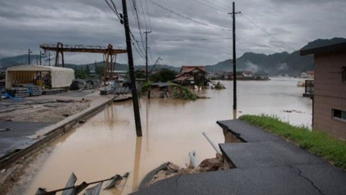 ΙΑΠΩΝΙΑ: 156 οι νεκροί από τις πλημμύρες