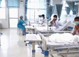 ΤΑΪΛΑΝΔΗ: Οι πρώτες εικόνες των 12 παιδιών μέσα από το νοσοκομείο