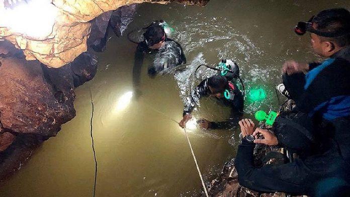Ταϊλάνδη: Βίντεο από το εσωτερικό της σπηλιάς