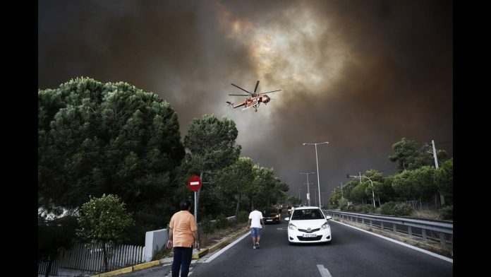 Ολοκληρώθηκε ο πρώτος γύρος καταθέσεων στην Δικαιοσύνη για την πυρκαγιά στο Μάτι