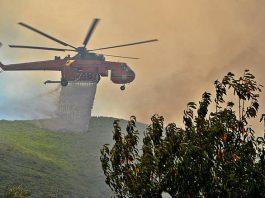 Κιθαιρώνας: Φωτιά σε δύσβατο σημείο