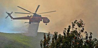 Εύβοια: Συνεχείς και διάσπαρτες οι αναζωπυρώσεις