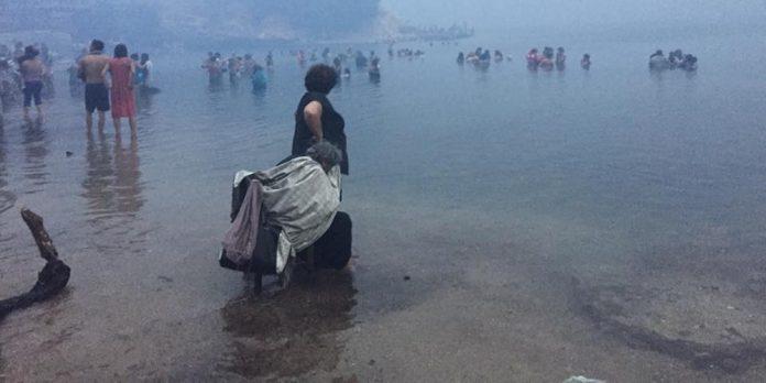ΣΟΚ από τον πύρινο εφιάλτη στην Αττική