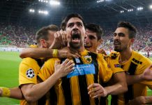 Super League: ΑΕΚ - Αστέρας Τρίπολης 3-0
