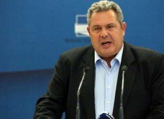 Καμμένος: Η απειλή της Τουρκίας για γεώτρηση στην κυπριακή ΑΟΖ είναι απειλή εισβολής