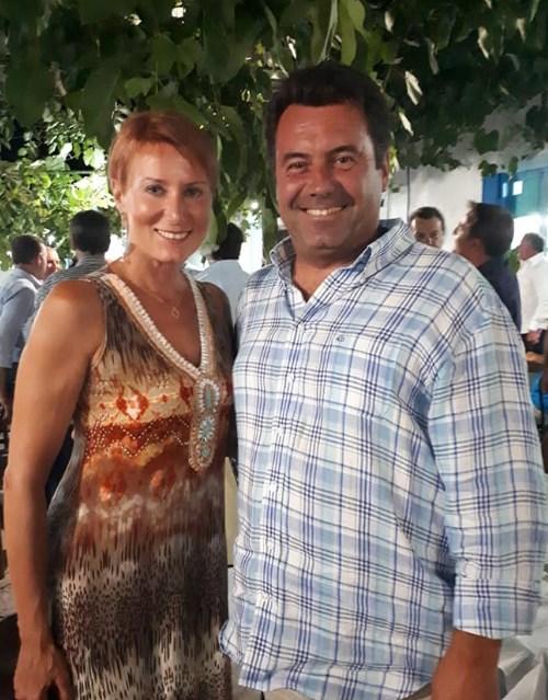 Λευκάδα: Για διακοπές με τη σύζυγό του ο Κώστας Καραμανλής