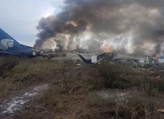 ΜΕΞΙΚΟ: Επέζησαν όλοι οι επιβαίνοντες από το αεροσκάφος που έπεσε