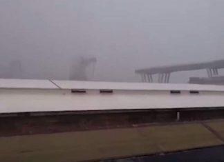 ΓΕΝΟΒΑ: Η συγκλονιστική στιγμή της κατάρρευσης της γέφυρας - «Ω θεέ μου, ω θεέ μου»