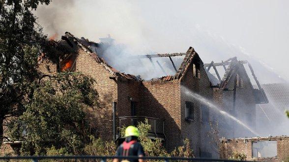 ΓΕΡΜΑΝΙΑ: Δεκάδες τραυματίες από μεγάλη πυρκαγιά - Κάηκαν σπίτια