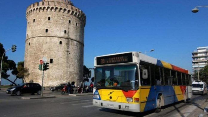 Θεσσαλονίκη: Χειρόφρενο στα λεωφορεία του ΟΑΣΘ