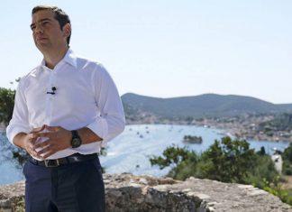 Τούρκοι παρενόχλησαν το ελικόπτερο του Τσίπρα στο Αγαθονήσι