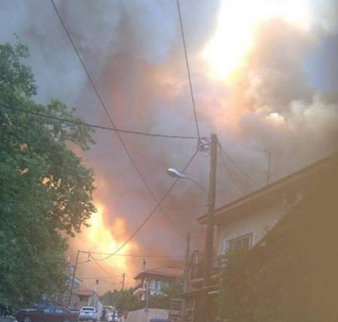 Εύβοια: Εκκενώθηκε προληπτικά το χωριό Σταυρός