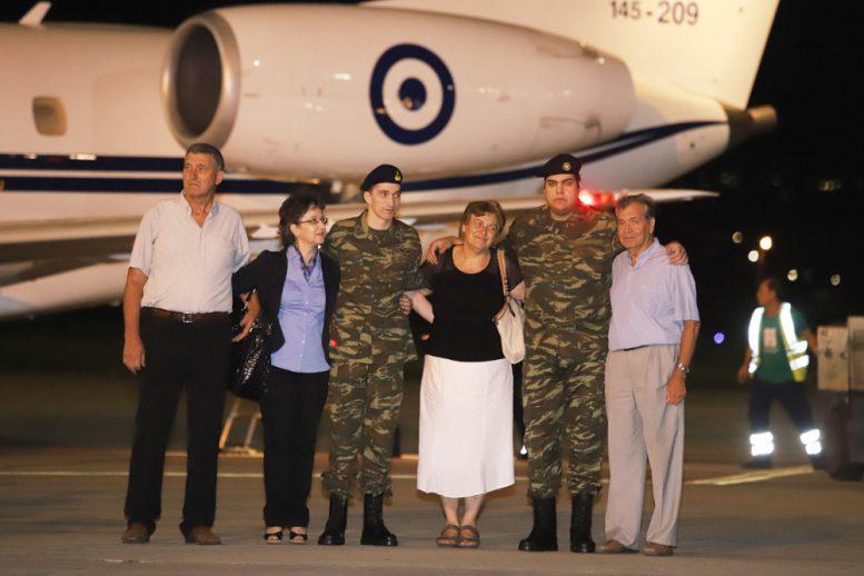 Έλληνες στρατιωτικοί, Θεσσαλονίκη, υποδοχή,