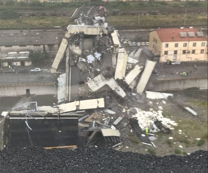 ΓΕΝΟΒΑ: Στους 43 οι νεκροί από την κατάρρευση της γέφυρας