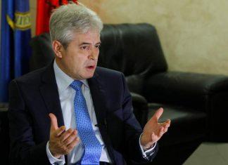 πΓΔΜ: Δηλώσεις Αχμέτι για δημοψήφισμα