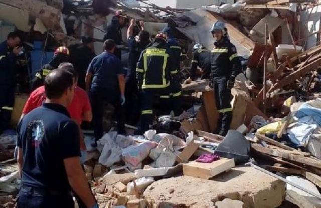 Ιωάννινα: Φιάλη υγραερίου ήταν η αιτία της έκρηξης