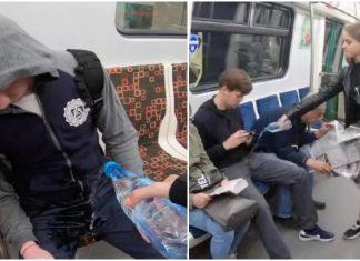 ΡΩΣΙΑ: Φοιτήτρια ρίχνει χλωρίνη σε άνδρες στο μετρό