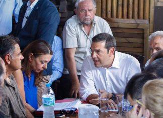 Τα αιτήματα των κατοίκων του Νέου Βουτζά στον Τσίπρα