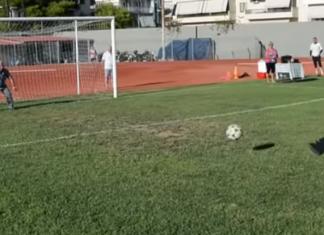 Ναύπλιο: Κολλημένος με την μπάλα ο παπα-Κώστας