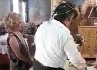 Τρίκαλα: Ο γαμπρός «ξενύχιασε» τη νύφη την ώρα του γάμου