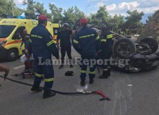 Λαμία: Παραλίγο… τραγωδία με ιερέα που φέρεται να οδηγούσε υπό την επήρεια αλκοόλ