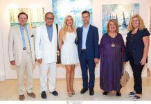 """Ατομική έκθεση ζωγραφικής της Ελένης Σαμέλη Βαρουξάκη: """"Journey of life""""_ Color and light"""