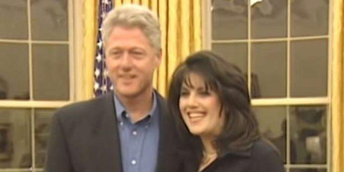 Ένα βίντεο από το παρελθόν! Όταν Μπιλ Κλίντον και Μόνικα Λεβίνσκι είχαν σχέση και πόζαραν μαζί στο οβάλ γραφείο