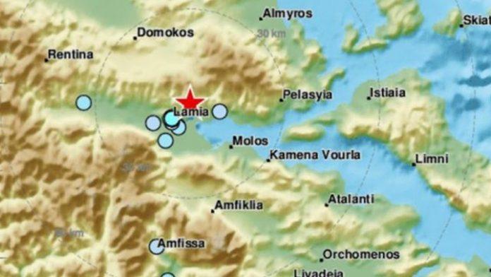 Λαμία: Νέος σεισμός τρόμαξε τους κατοίκους
