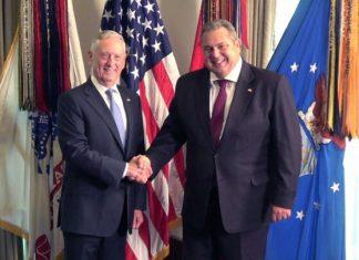 Ενίσχυση της συνεργασίας Ελλάδας-Κύπρου-Ισραήλ με τη συμμετοχή των ΗΠΑ προανήγγειλε ο Π. Καμμένος