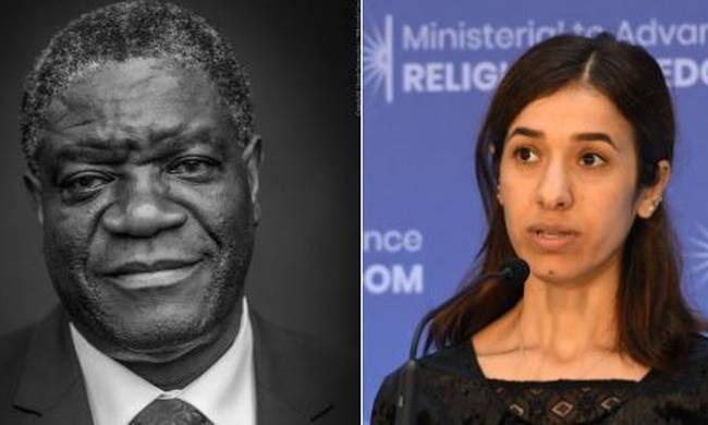 Νόμπελ Ειρήνης: Στον γυναικολόγο Ντένις Μoυκουέγκε και στην ακτιβίστρια Νάντια Μουράντ