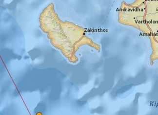 Ζάκυνθος: Νέος σεισμός 4,3 Ρίχτερ