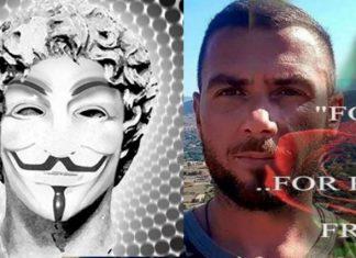 Οι Anonymous Greece επιτέθηκαν στην Αλβανία για τον Κωνσταντίνο Κατσιφά