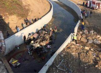 ΤΟΥΡΚΙΑ: Τουλάχιστον 22 νεκροί και 13 τραυματίες από ανατροπή φορτηγού με μετανάστες
