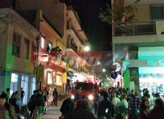 Πάτρα: Πυρκαγιά σε διαμέρισμα στο κέντρο της πόλης δημιούργησε πανικό