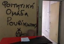 Φιλοσοφική: Παρέμβαση εισαγγελέως του Αρείου Πάγου για τη δράση του Ρουβίκωνα