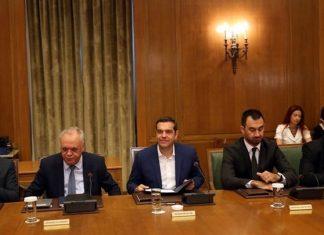 Υπουργικό Συμβούλιο: Συνεχίστηκαν οι παροχές...