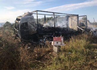 Καβάλα - Τραγωδία: 11 μετανάστες απανθρακώθηκαν σε τροχαίο με φορτηγό