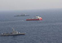 ΤΟΥΡΚΙΑ: Ενεργοποιεί την ζώνη αποκλεισμού γύρω από το Barbaros και αυξάνει τις δυνάμεις της