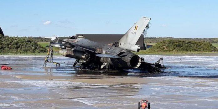 ΒΕΛΓΙΟ: Εκρήξεις και φωτιά σε F-16 σε αεροπορική βάση