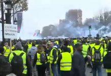 ΓΑΛΛΙΑ: Δέκατη πέμπτη εβδομάδα κινητοποίησης των «κίτρινων γιλέκων»