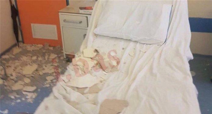 Νοσοκομείο Νίκαιας: Έπεσε το ταβάνι και τραυμάτισε μητέρα ασθενή