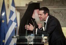 «Καμπάνια» του Αρχιεπισκόπου υπέρ της συμφωνίας με Τσίπρα.