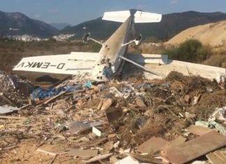 Ξάνθη: Έπεσε αεροσκάφος – Τραυματίστηκαν και οι δύο επιβαίνοντες