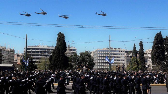 Κανονικά θα διεξαχθεί η στρατιωτική παρέλαση της 25ης Μαρτίου