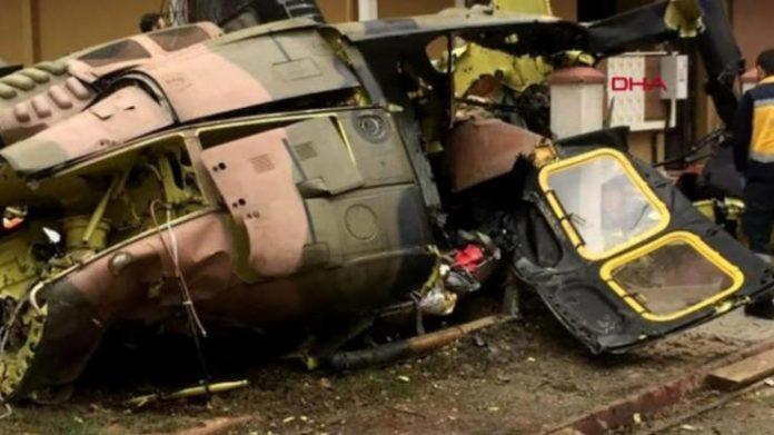 Κωνστατινούπολη: Στρατιωτικό ελικόπτερο έπεσε σε κατοικημένη περιοχή