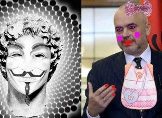 Οι Anonymous Greece «ρίχνουν» σελίδες των Αλβανών
