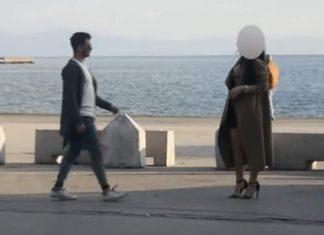 Βόλος: Απίστευτο βίντεο - Τον απέρριπτε έως ότου είδε το πανάκριβο αυτοκίνητό του