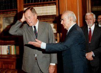 Η επίσκεψη Μπους στην Αθήνα το 1991