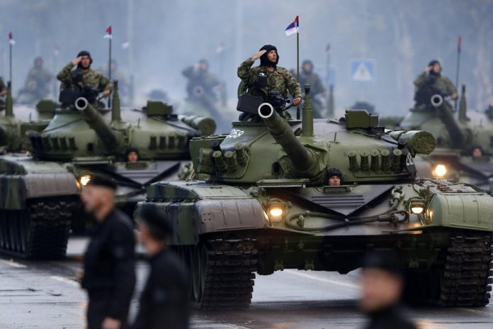 ΒΕΛΙΓΡΑΔΙ: Δηλώνει έτοιμο να στείλει στρατό στο Κόσοβο