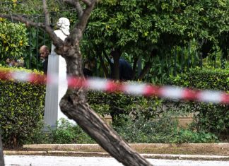 Ζάππειο: Βρέθηκε κρεμασμένος άνδρας